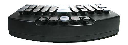 Schriftdolmetscher Stenografietastatur